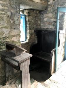 Hermitage chapel  - a seat for one!