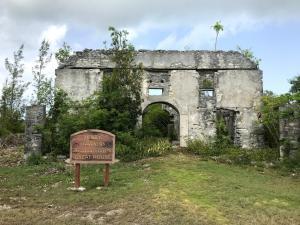 Ruins of a plantation