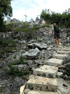 Steps up to the Hermitage