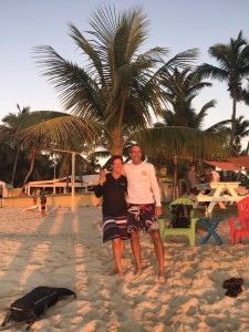 B-and-F-on-Grabbers-beach-with-sunset-lighting