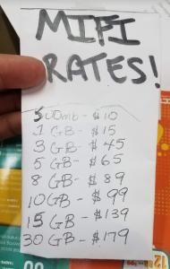21 Data ain't cheap in BVI