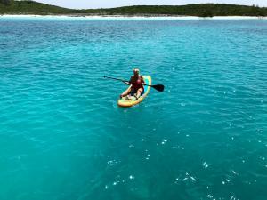Denise on paddleboard