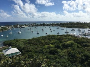 Hopetown-Harbor-from-top-of-lighthouse