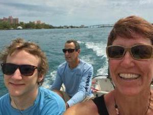 Exploring Nassau Harbour in Killer