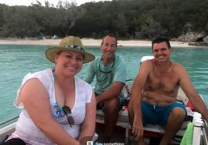 Impromptu beach party