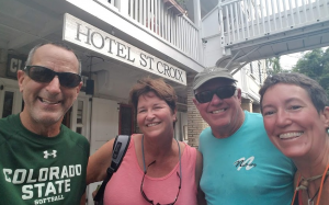 40 With Max and Whitey in Christiansted, St. Croix, USVI