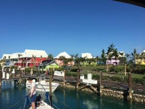 Pulling-into-Old-Bahama-Bay-from-bow-of-the-Turtle
