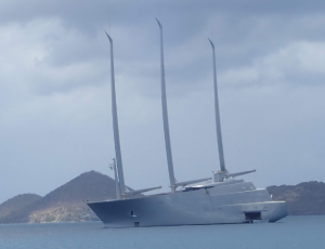 28 Sailing Vessel A - largest sailboat in the world