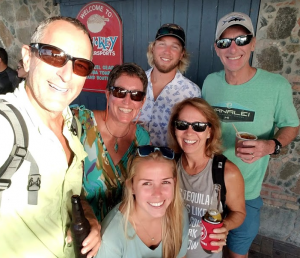 54 Smartinis, Barchards, and Fowler in Cruz Bay, St. John, USVI