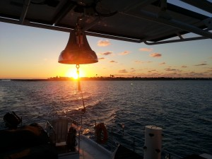 Sunrise-behind-the-bell-leaving-Abacos