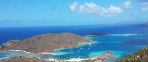 29 View from the top of Jost Van Dyke, BVI